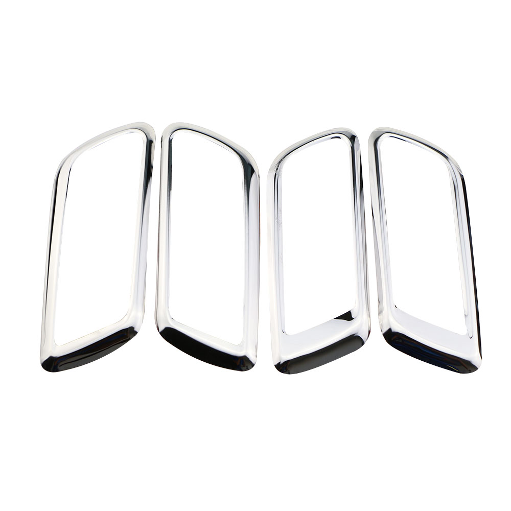 Jameo Auto Stainless Steel Car Interior Door Handle Circle Trim Stickers for Ford Focus 2 MK2 2005 - 2012 Sticker Accessories