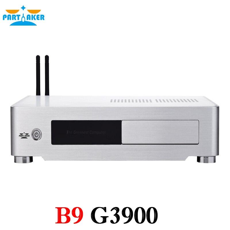 G3900 2M Cache 2.80 GHz Partaker B9 6 Generation SKYLAKE Mini PC CPU with DDR4 Memory VGA HDMI DVI Port HTPC