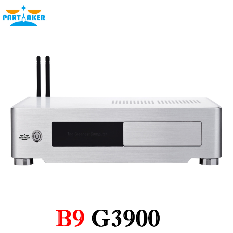 Partaker B9 6 Generation SKYLAKE Mini PC CPU with G3900 2M Cache 2 80 GHz DDR4