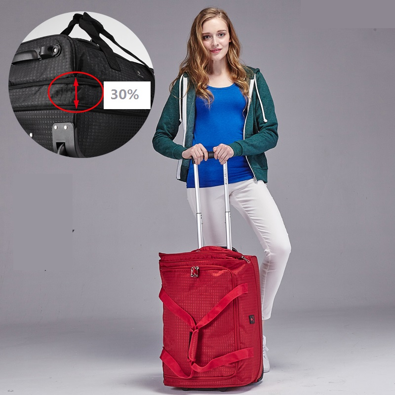 Fashion-18-20-22-inch-Extensible-Backpack-Travel-Bag-Casters-Trolley-Carry-On-Wheels-Women-Waterproof (4)