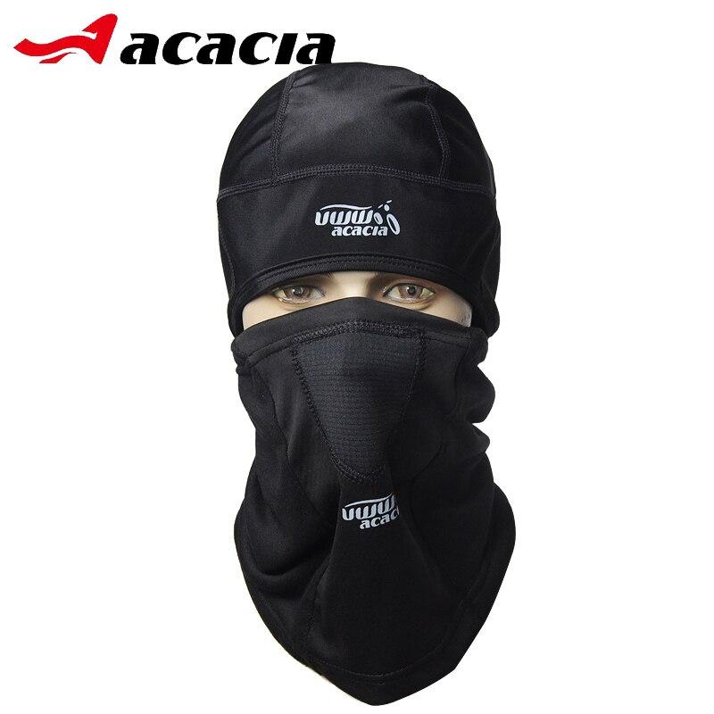 ACACIA UWW Аксесуари для велосипедів Зимові флісові маски для коліс Комір для погонів Bicicleta Відкритий велосипед Чорний теплий велосипедний ковпак 0662