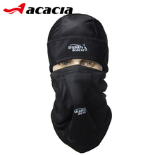 ACACIA UWW Bicycle Accessories Winter Fleece Bike Masks Collar Headscarf Bicicleta Outdoor Bicycle Black Warm Cycling Cap 0662