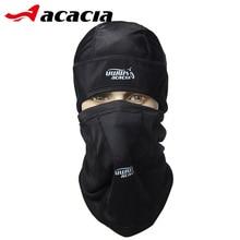 ACACIA UWW Bicycle Accessories Winter Fleece Bike Masks Collar Headscarf Bicicleta Outdoor Bicycle Black Warm Cycling Cap 0662