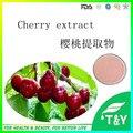 Melhor Preço de Saúde Top Quality Vitamina C Natural Extrato de Cereja Preta 900 g/lote