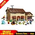 Disponible 2017 MOC de DHL Lepin 16005 Simpson familia Kwik-e-mart Conjunto Montado Bloques de Construcción Ladrillos Juguetes clon 71006