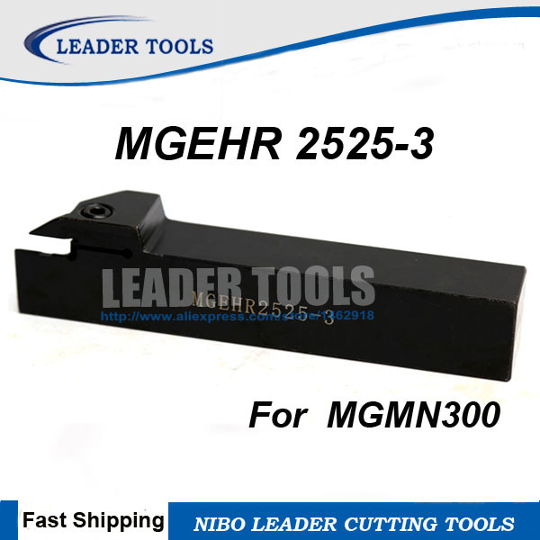 MGEHR2525-3 3.0mm width Grooving Partting Cut-Off Toolholder For MGMN300-M
