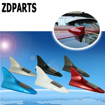 ZDPARTS Car LED Antenna Decoration Shark Fin Aerials For BMW E46 E39 E60 E90 E36 F30 F10 X5 E53 E34 E30 Mini Cooper Lada Granta image