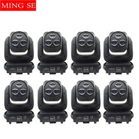 8pcs/lots Beam Light 3x40W RGBW 4IN1 LED Bee Eyes Moving Head Light With Zoom Stage Lights DJ Show Wedding Light