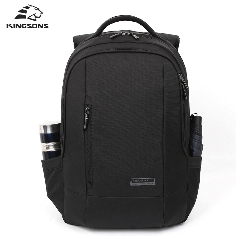 Kingsons Black Laptop Backpack Daily Rucksack Men Computer Bagpacks Mochila Feminina Bag School Bags Men's Backpack 2017 New kingsons women black laptop backpack daily rucksack men computer bagpacks mochila feminina bag school bags men s backpack