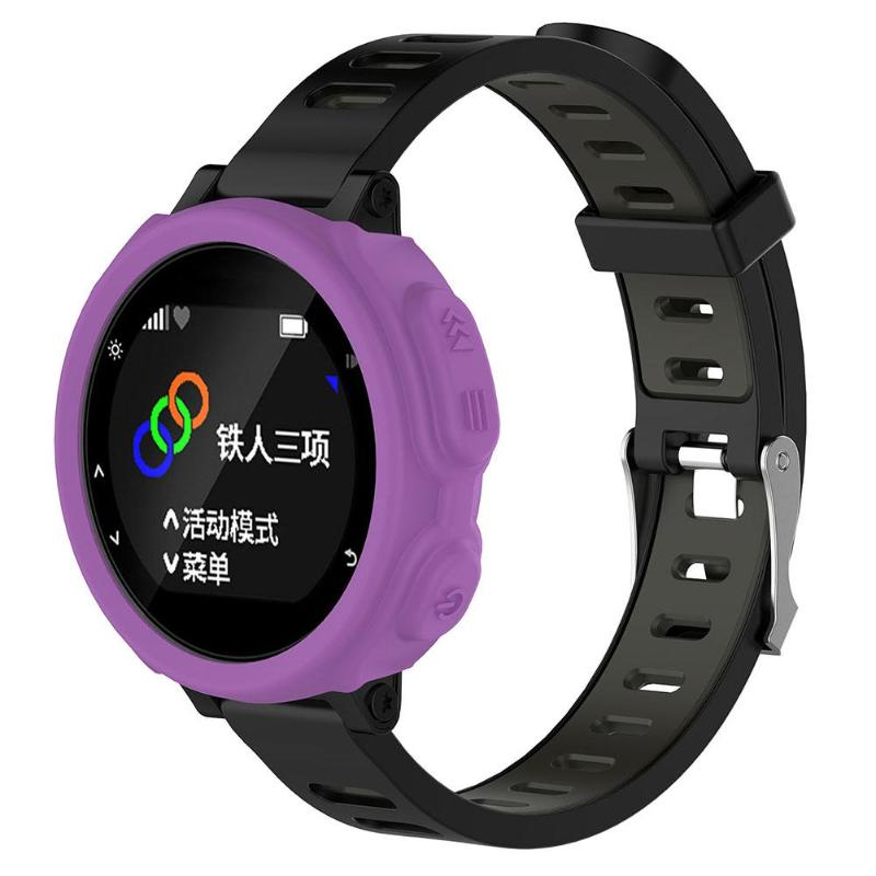 Image 3 - 8 Colors Silicone Protective Case Smartwatch Shell For Garmin Forerunner 235 735XT Sports Watch-in Smart Accessories from Consumer Electronics