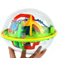 Kids Game Brain Educational Children Toys Gift Balance Logic Ability Intellect 3D Maze Puzzle Ball New