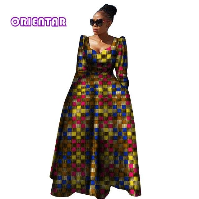 acheter en ligne b441f 90ce3 Femmes vêtements africains Bazin Riche Robe Africaine Robe ...