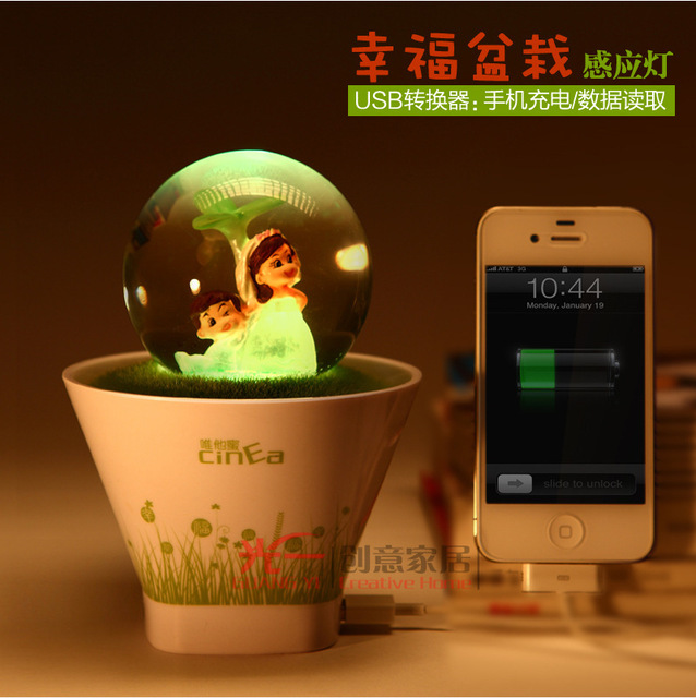 SanDisk Home Unique Birthday Gift To Send Boys And Girls Creative Gifts Girlfriend Happy Romantic Pot Lights