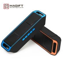 Portátil Inalámbrico Bluetooth Altavoz de Graves de Alta fidelidad de Sonido Estéreo Subwoofer de Altavoz Dual Mic tarjeta TF Función de Radio FM USB
