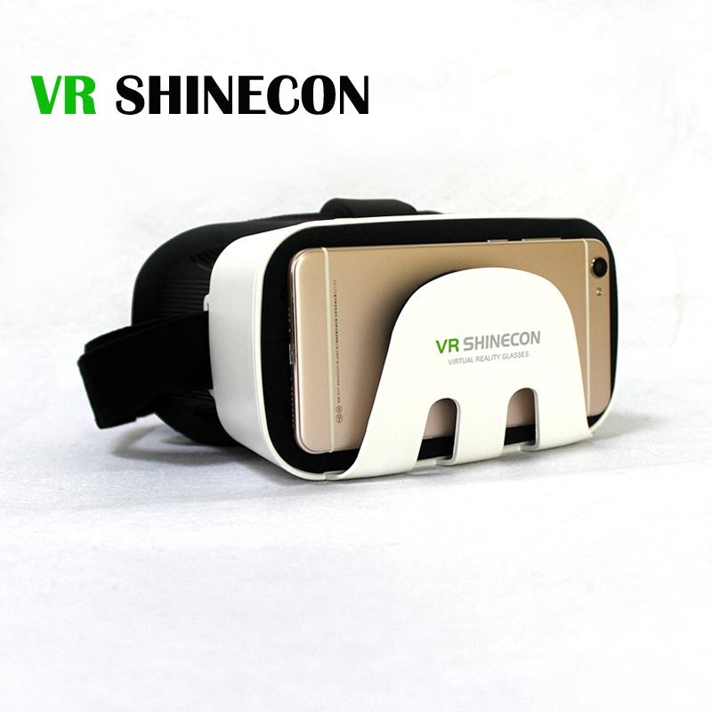 2017 Shinecon Virtual Reality  SC-3GB 3D VR BOX Google cardboard smart glasses Bluetooth Remote Gamepad For Smartphones