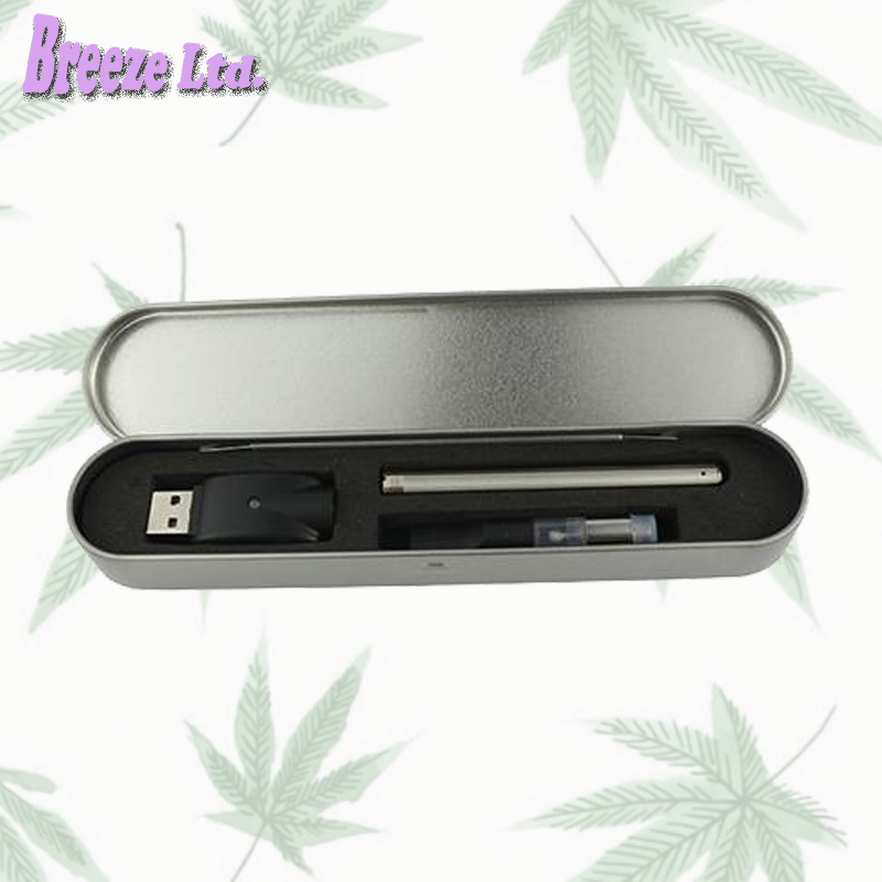 10pc/lot BUD Touch Pen Box Kit Vape Pen Vaporizer Pen Cartridge Pen CE3 Atomizer Touch Battery E Cig Kits For CBD Oil CO2