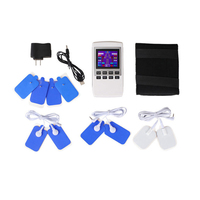 Free Shipping Electrotherapy Physiotherapy Pulse Massager Muscle Stimulator LCD 680060