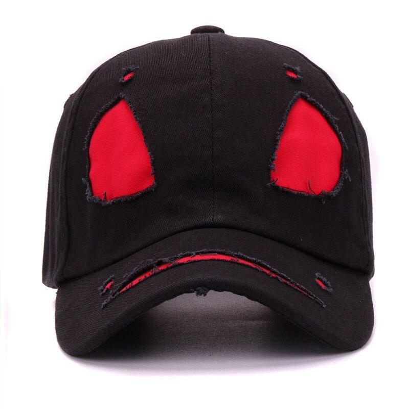 7676c6fb567 Fashion street cotton devil face cap cool monster mask baseball hat ...