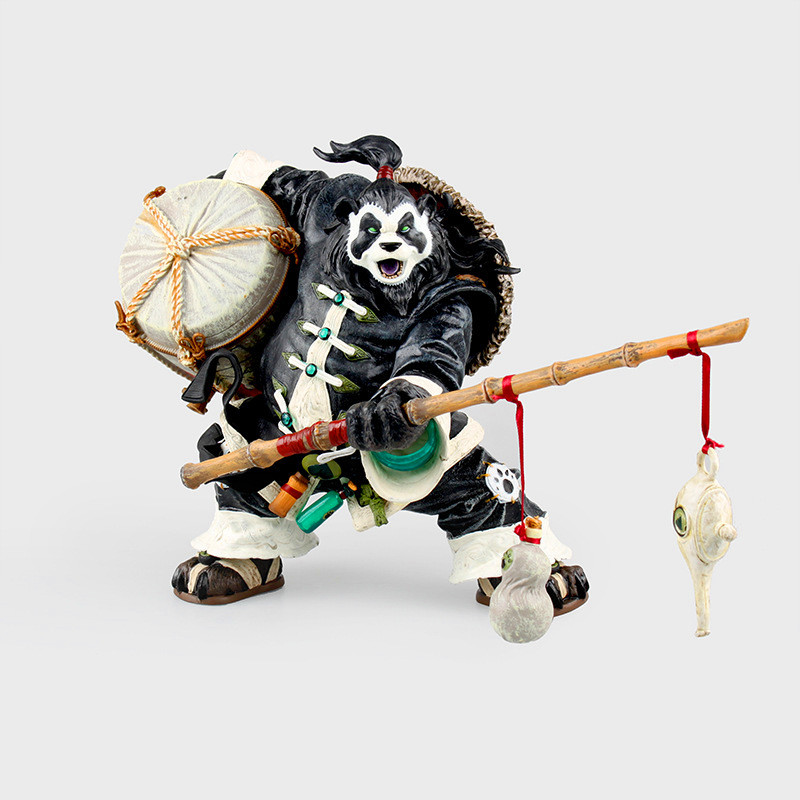 World of Warcraft Pandaren Brewmaster Deluxe Action Figure