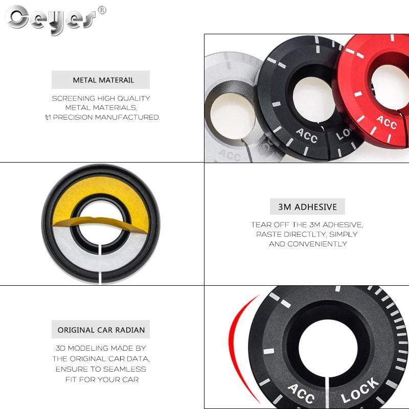 Car Start Engine Button Key Ring for VOLKSWAGEN AUDI SKODA SEAT (11)