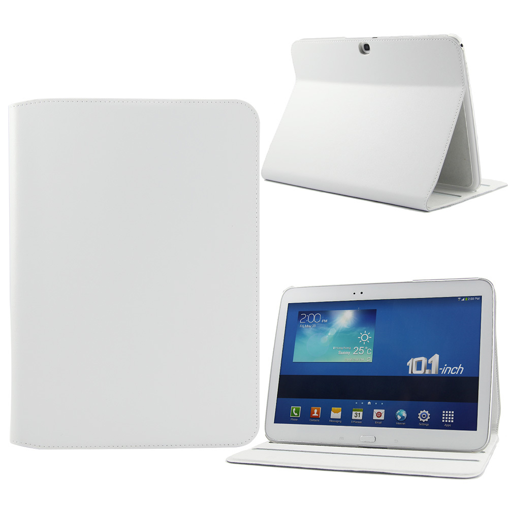 New 4 Color Elegant Tablet PC Leather Case For Samsung P5200 Tab 3 10.1 ,Tablet Case And Cover For Free Shipping