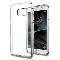 5 1 Original Ultra Hybrid Case For Galaxy S7 Flat Clear Back Panel Soft TPU BumperDrop
