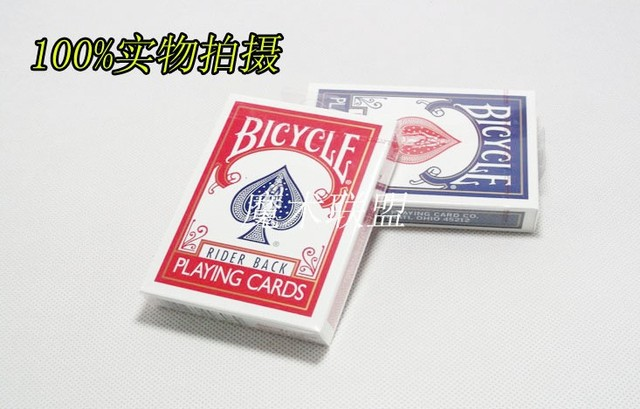 Bycicle playing cards (2pc/lot) Good quality, card magic,magic tricks,fire,props,dice,comedy,mental magic