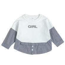 Осенне зимние топы и блузки для новорожденных в черно белую