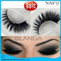 UPS Free Shipping 40pair/lot 3D Mink Eyelash Lilly Real Mink Handmade Crossing Lashes Individual Strip Thick Lash Fake Eyelashes