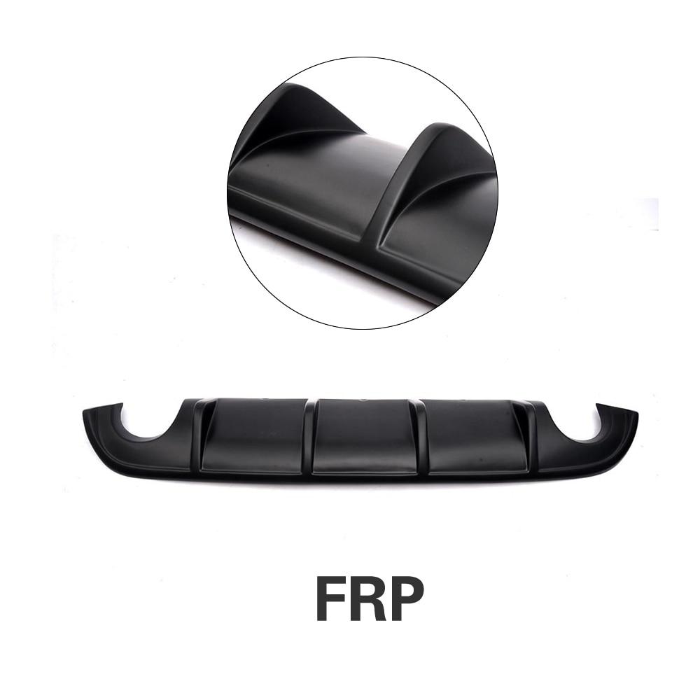Задний бампер диффузор спойлер защита для Infiniti Q50 база и Спорт 2013- углеродное волокно/FRP/PU - Цвет: FRP