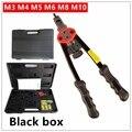 MXITA pistola de remaches automática herramienta de remache de 12 ciego pistola de tuercas de mano pesada herramienta de tuerca Manual mandals M3 m4 M5 M6 M8 M10 BT-606