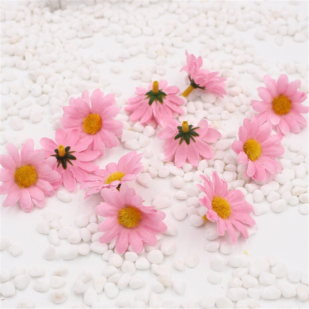 Aliexpress.com : Buy 10pcs Small Silk Sunflower Handmake Artificial ...