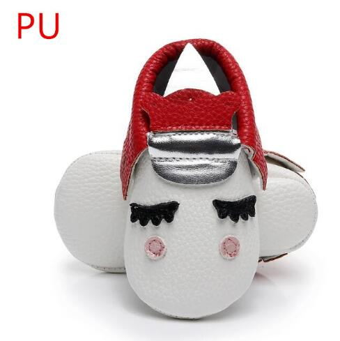 Pu Leather Hot Sell Handmade Newborn Baby Boy And Girls Party Shoes Toddler Moccasins Blush Angle Unicorn Baby Boot Soft Sole