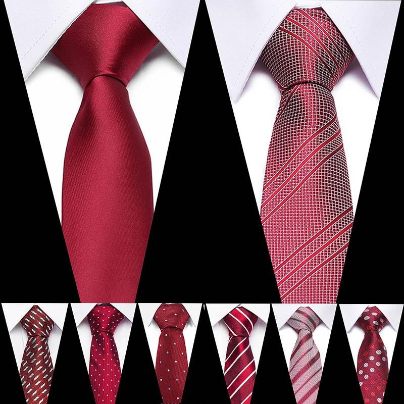 Brand Mens Ties Man Fashion Paisley Dot Neckties Gravata Jacquard 7.5cm Slim Tie Corbatas Hombre 2019 Wedding Tie For Men
