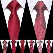 Brand Mens Ties Man Fashion Paisley Dot Neckties Gravata Jacquard 7.5cm Slim Tie Corbatas Hombre 2019 Wedding For Men