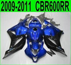 fairing kit For Honda CBR 600RR 2009 2011 2012 ( Metallic blue ) cbr600 rr 09 10 11 Fairings SZ52