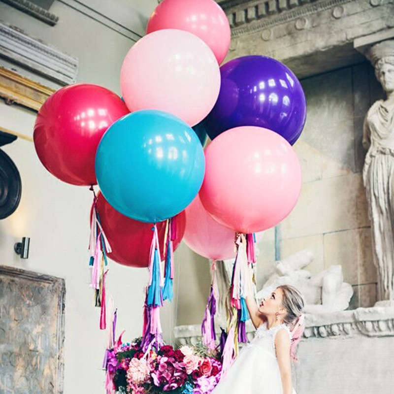 20PCS 36/'/'INCHES GIANT LARGE LATEX BALLOON BIG WEDDING PARTY DECORATION BIRTHDAY