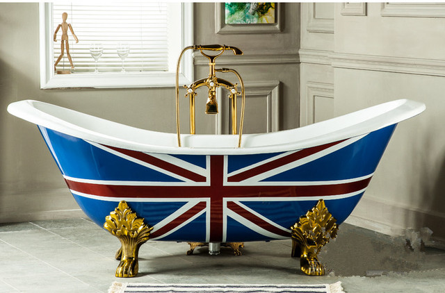 72 Cupc Approval Freestanding Iron Indoor Bathtub Cast Iron Double