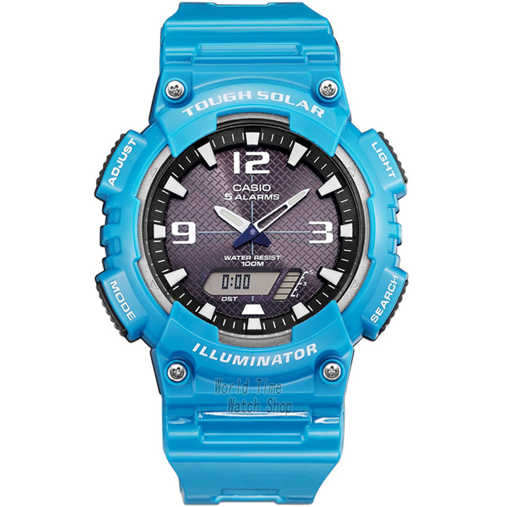 ФОТО Casio watch Solar Multifunctional Men's Watches AQ-S810WC-3A AQ-S810WC-4A AQ-S810WC-7A