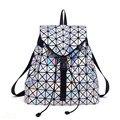 2016 das Mulheres Mochila Bao Bao BaoBao Geométrica Patchwork Diamante Treliça Senhoras Mochila Para Adolescente Escola Bags sac a dos