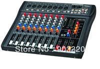 Hot Sale CT 80S 8 Channels Professional DJ Audio Mixer With USB MP3 For KTV,Conference,Stage Party, DJ Equipemnt