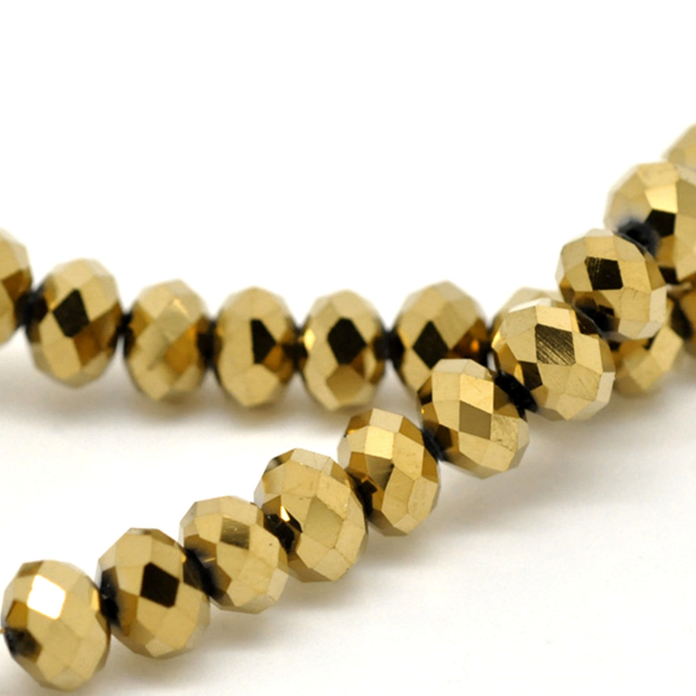 glorious czech pressed matte beads gold metallic glass melon supplies fifty suede craft products