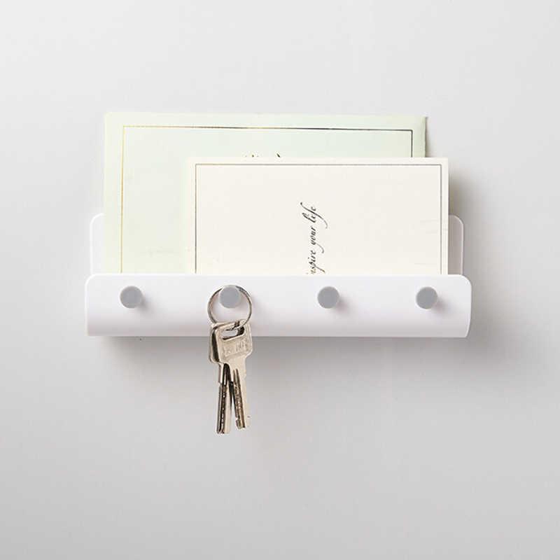 1 adet yaratıcı mutfak banyo askı kancası Modern ev Adhesize kanca anahtar tutucu duvar kanca ev düzenleyici