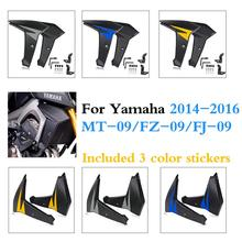 MT09 FZ09 FJ09 Bellypan Engine Spoiler with Radiator Side Fairing for 2014-2016 Yamaha FZ MT FJ 09 MT-09 FZ-09 FJ-09 2015 chain guards cover protector cap for yamaha mt 09 fz 09 fj 09 mt09 tracer fz09 fj09 mt fz fj 09 2014 2018 2015 2016 2017 cnc