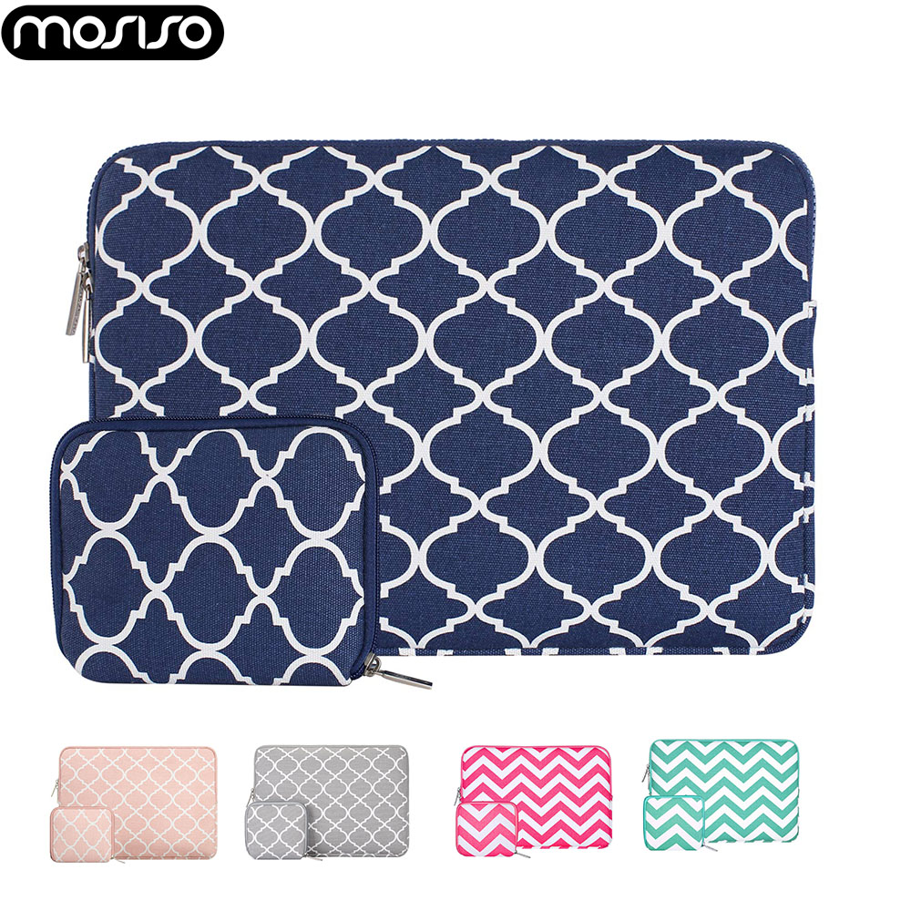MOSISO 11.6 13.3 14 15.6 Inch Laptop Sleeve Bag For MacBook Air Pro 13 15 Asus Acer Dell Chromebook Notebook Portable Case Cover