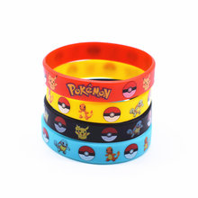 Модный браслет, 4 цвета, ID, детский браслет, Pokemon Go, команда, мистик, инстинкт, браслеты из силиконового каучука и браслеты