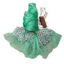 Cast net diameter 5m fishing monofilament nylon network Korea style hand throw red de pesca outdoor tool
