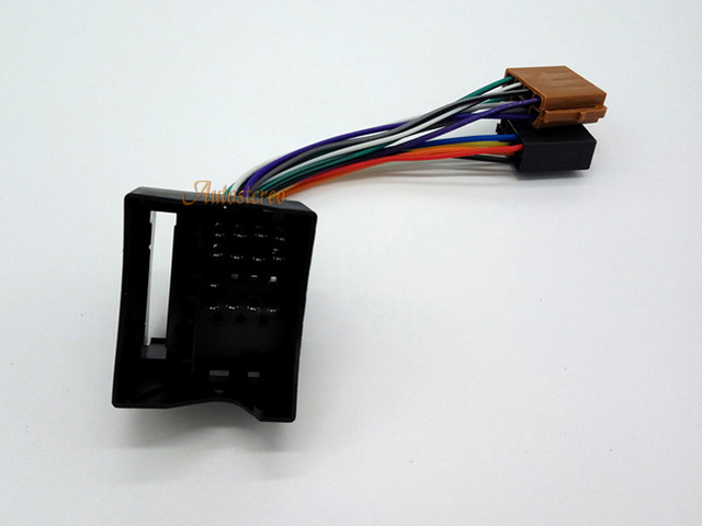 Fabulous Iso Wiring Harness Radio Cable Adapter For Bmw Land Rover Rover Mini Wiring Digital Resources Sapebecompassionincorg