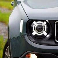 For Jeep Renegade 2015 2016 Right / Left Composite Headlight Lamp Assembly Set OEM NEW