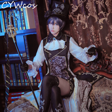 Black Butler Ciel Phantomhive Sun Awakening The Dream of 100 Cosplay Costume Halloween Outfits Costumes Suits